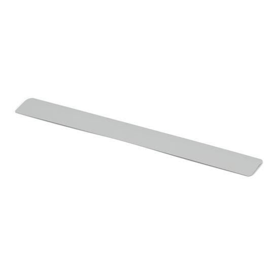 Kulörprov tillval, vit/silver lamell nr 116