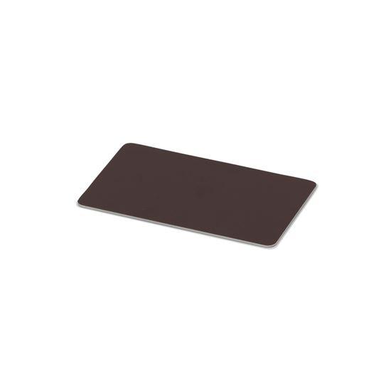 Kulörprov aluminium brun RAL 8017