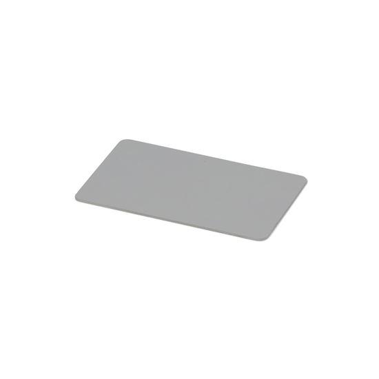 Kulörprov aluminium naturanodiserat