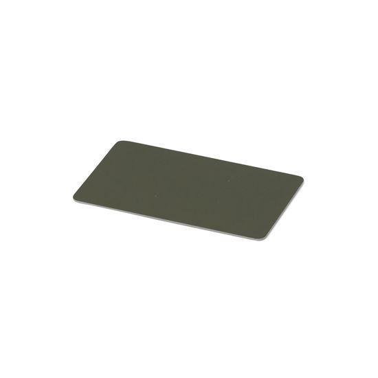 Kulörprov aluminium olivgrön RAL 6009