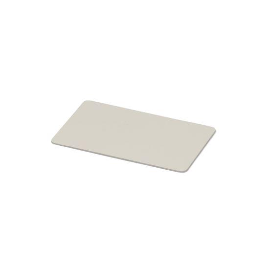Kulörprov aluminium vit NCS S 0502-Y
