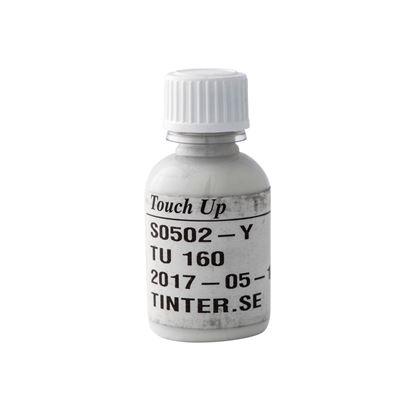 Bättringsfärg för målad aluminiumbeklädnad, vit NCS S 0502-Y