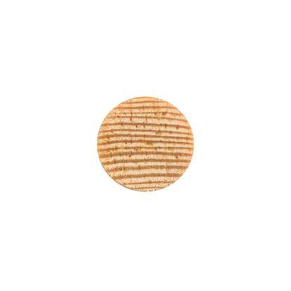 Täcklock för karmskruvshål, trä obehandlade